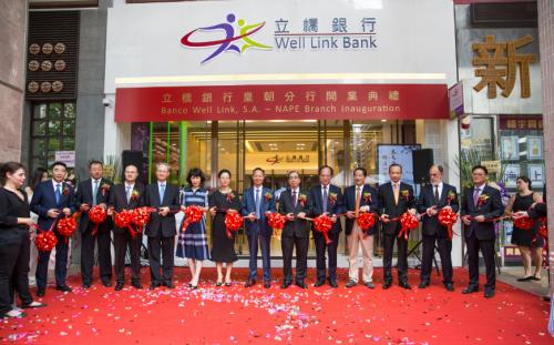 Inauguração da Sucursal do Banco Well Link no NAPE